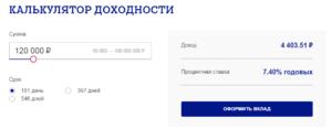 Вклады в Почта банке