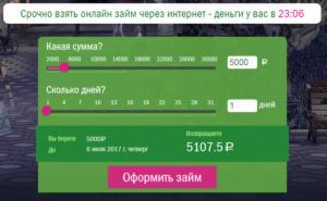 Займы Грин Мани